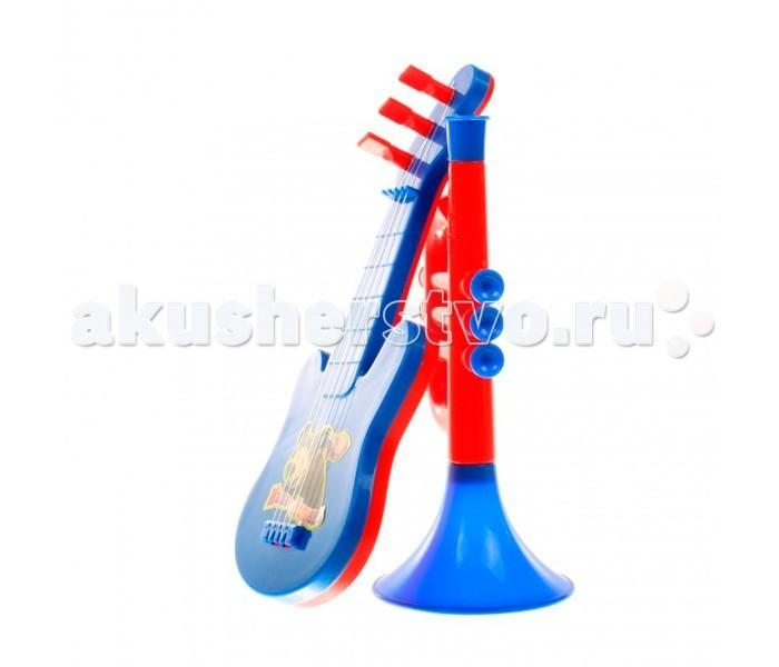 Музыкальная игрушка Маша и Медведь Набор музыкальных инструментов GT5840