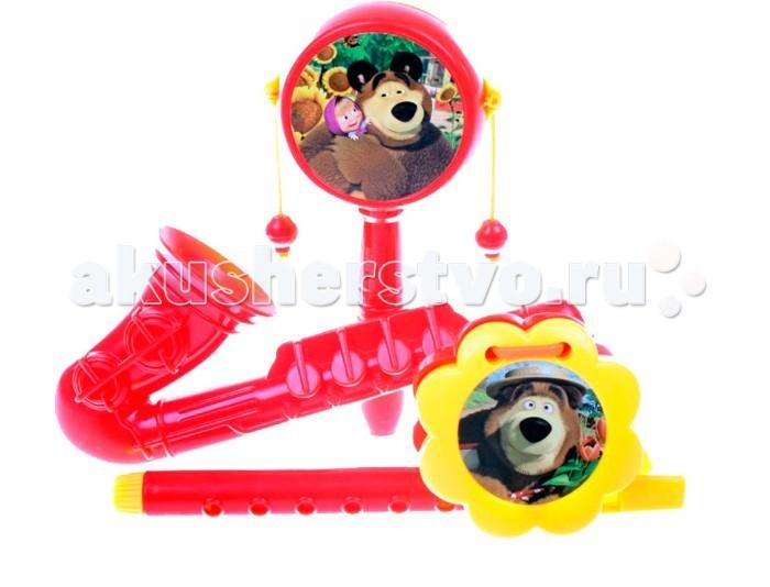 Музыкальные игрушки Маша и Медведь Набор музыкальных инструментов GT5841