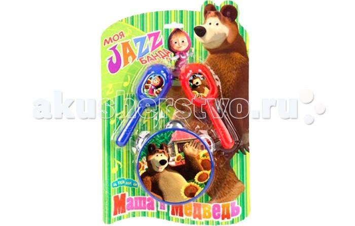 Музыкальная игрушка Маша и Медведь Набор музыкальных инструментов GT5845