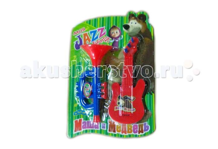 Музыкальная игрушка Маша и Медведь Набор музыкальных инструментов GT5847