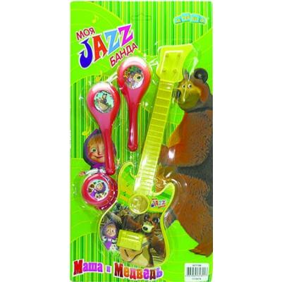 Музыкальная игрушка Маша и Медведь Набор музыкальных инструментов GT7708