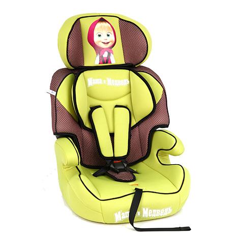 Автокресло Маша и Медведь RA0001-ERA0001-EАвтокресло Маша и Медведь RA0001-E – простое в использовании, комфортное кресло для вашего ребенка.   Особенности: Внутренние пятиточечные ремни данной модели кресла очень гибкие, прочные, с дополнительными накладками, благодаря чему посадка вашего крохи более удобная, комфортная и упрощенная.  Модель дополнена подлокотниками, специальной, съемной подушечкой, которая очень хорошо справляется с ортопедическими функциями и обеспечивает дополнительную защиту юного пассажира.  Автокресло устанавливается только по ходу движения автомобиля, фиксируется при помощи штатных ремней, имеет защиту от боковых ударов.<br>