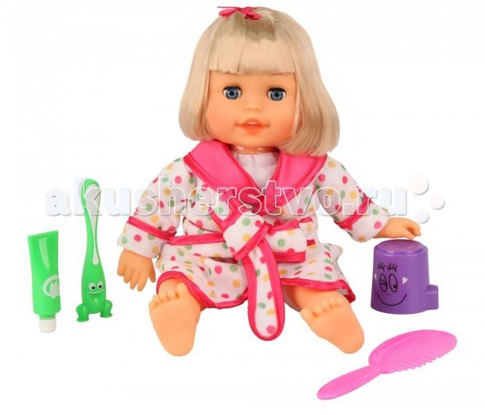 Затейники Моя радость GT8093Моя радость GT8093Кукла Затейники Моя радость - замечательная игрушка, которая благодаря своим интерактивным функциям не даст заскучать своей юной мамочке и будет веселить ее целый день.  У каждой девочки теперь есть прекрасная возможность играть и ухаживать за милой куколкой, примеряя на себя роль маленькой заботливой мамы.  Особенности: У куклы мягконабивное тельце красивые глаза Разговаривает, поет песенку, смеется Чистит зубки и двигает головкой Полощет ротик  Расчесывает волосы и делает прически В комплекте аксессуары: расческа, зубная паста, зубная щетка, стаканчик  Работает от 3 батареек типа АА (в комплект входят) Качественные гипоаллергенные материалы изготовления Кукла имеет 8 функций произносит 30 фраз<br>