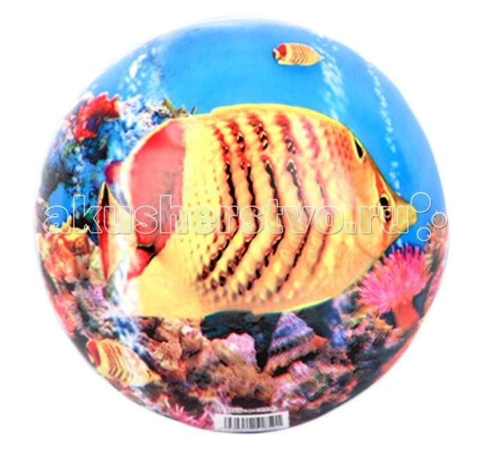 Мячи и прыгуны Затейники Мяч Рыбки 23 см