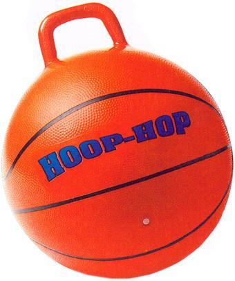 Мячи и прыгуны Затейники Мяч баскетбол с ручкой 46 см