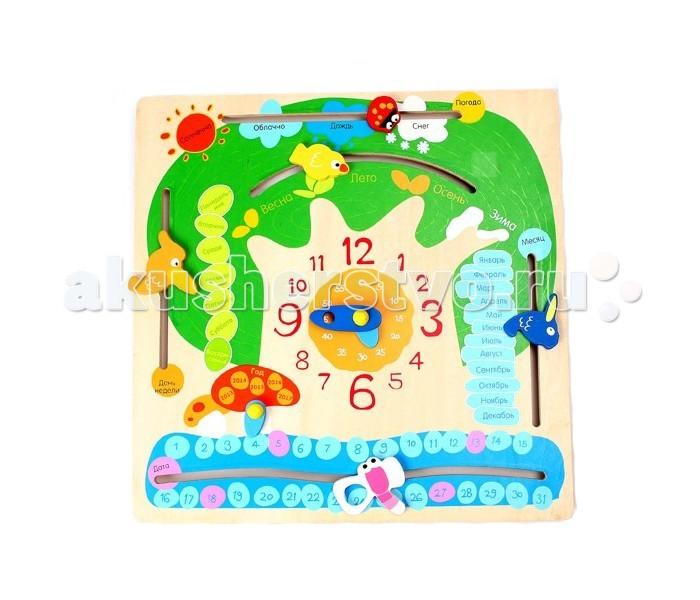 Деревянная игрушка Затейники Календарь