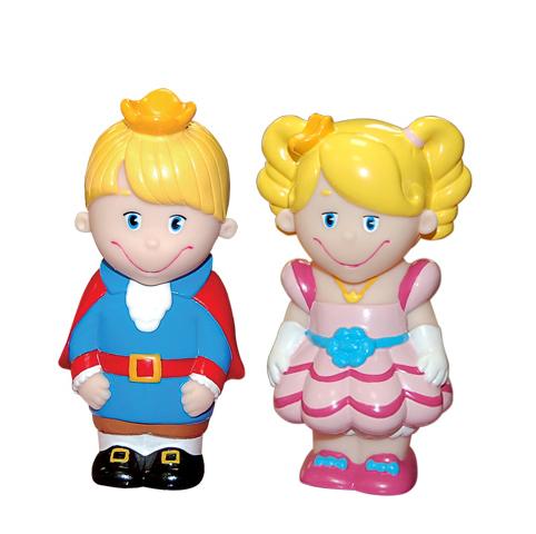 Затейники Набор Принц и ПринцессаНабор Принц и ПринцессаЗатейники Набор Принц и Принцесса - это замечательный игровой набор для купания, который станет отличным подарком для любого малыша.   Особенности: В процессе игры ребенок будет выдумывать различные сюжеты, развивая свое воображение.  Все элементы набора изготовлены из высококачественных полимерных материалов. Теперь купание будет проходить весело и интересно.<br>