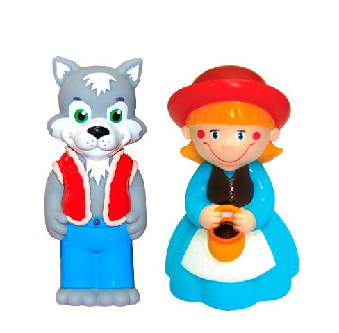 Затейники Набор Красная ШапочкаНабор Красная ШапочкаЗатейники Набор Красная Шапочка - это замечательный игровой набор для купания, который станет отличным подарком для любого малыша.   Особенности: В процессе игры ребенок будет выдумывать различные сюжеты, развивая свое воображение.  Все элементы набора изготовлены из высококачественных полимерных материалов. Теперь купание будет проходить весело и интересно.<br>
