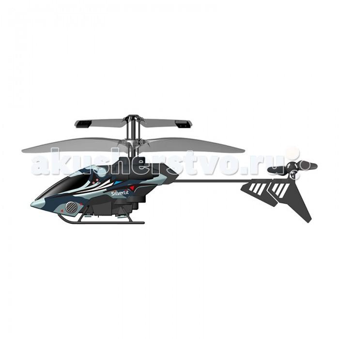 Silverlit 2-х канальный Мой первый вертолет2-х канальный Мой первый вертолетРадиоуправляемый вертолет от Silverlit 2-х канальный Мой первый вертолет – это отличный выбор для детей, который будет самой любимой игрушкой.  Это красивая модель с удлиненным стеклом над кабиной пилота.  В комплектацию входит вертолет и пульт к нему. Винты вертолета смещены в заднюю часть, а центр тяжести впереди.  Хвостовая часть расположена на удлиненной трубе, заканчивающейся винтом с двумя лопастями, с помощью которых меняется направление полета.  Эти радиоуправляемые игрушки 2-х канальные, значит, выполняют две команды при работе с пульта.   Вертолет поднимается вверх и вниз, движение вперед осуществляется за счет усиленного в носовой части центра, так же выполняется команда поворота, при котором игрушка наклоняется в бок и поворачивает. Ребенок может играть с игрушкой во дворе или на открытой площадке.  Контроль полета с пульта осуществляется до 12 метров.   Вертолеты на р/у взлетают в воздух и следуют в одном направлении, при нажатии на пульт происходит наклон в сторону и осуществляется поворот.  При прибытии на место вертолет можно посадить на обозначенную площадку. Во время игры развивается координация движений, моторика и внимание, сообразительность и подвижность.  Продукция сертифицирована, экологически безопасна для ребенка, использованные красители не токсичны и гипоаллергенны.<br>