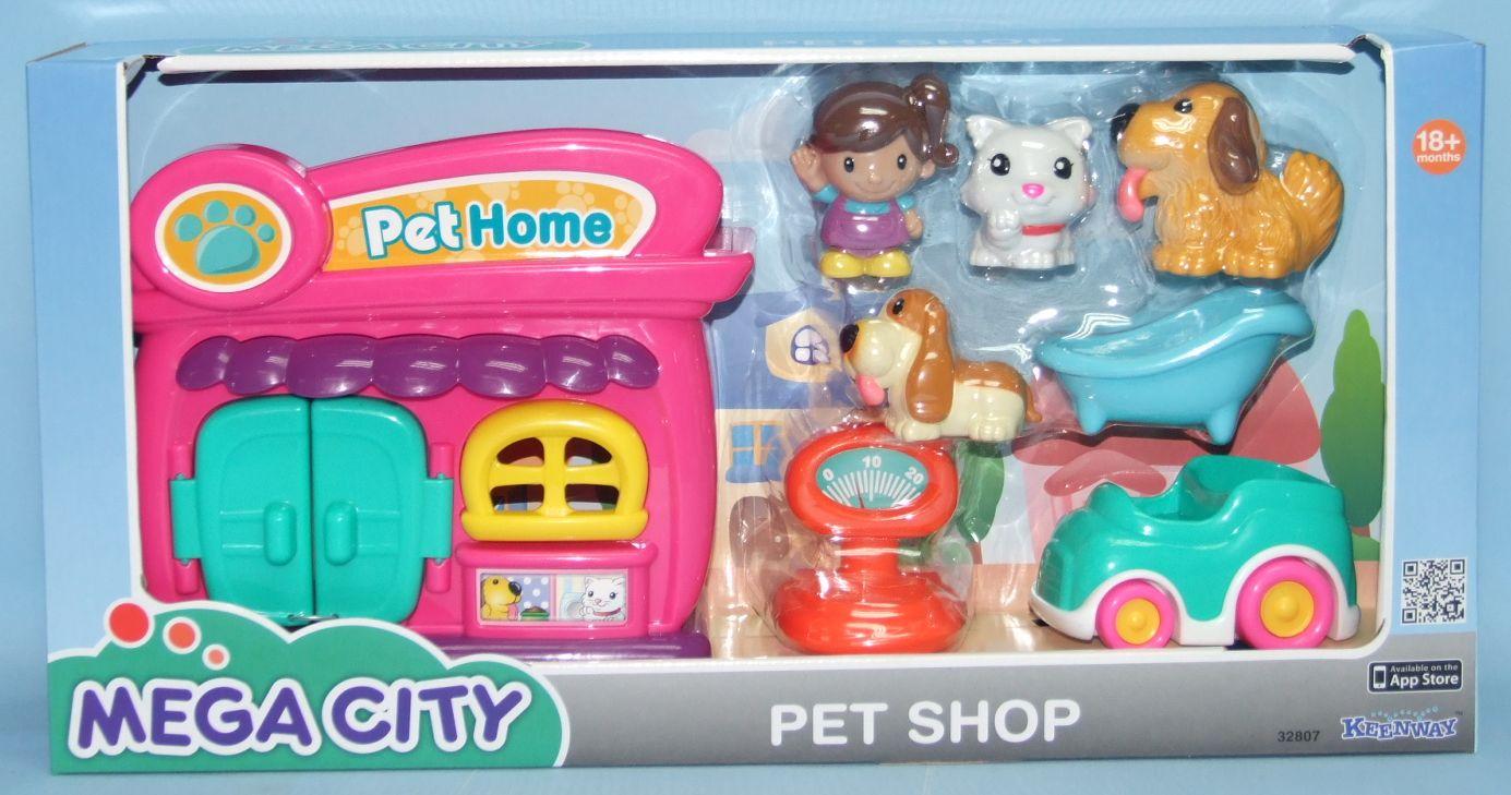 Keenway Mega City Игровой набор Домик для домашних животных