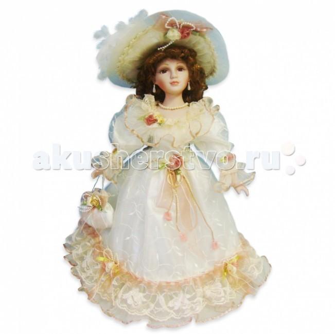 Lisa Jane Кукла фарфоровая Алина 18 45.7 смКукла фарфоровая Алина 18 45.7 смКукла фарфоровая Алина 18 45.7 см.  Фарфоровые куклы «Lisa Jane» созданы по лицензии знаменитой американской фотохудожницы Лизы Джейн. При создании кукол «Lisa Jane» дизайнеры уделяют внимание абсолютно всем частям тела, каждая деталь играет важную роль в создании образа: изящный фарфор, миловидное лицо, великолепный наряд.  У кукол «Lisa Jane» очень нежный, немного бледный оттенок кожи, глаза сделаны очень натуралистично, изготавливаются они специально из безопасного пластика.   Все куклы имеют индивидуальные цвет и радужную оболочку глаз.  Отдельное внимание уделяется пушистым ресницам, волосам кукол и прическе. Куклы настолько индивидуальны, что у каждой свое неповторимое имя.  Фарфоровая кукла «Lisa Jane» - это изящный, прекрасный выбор и неповторимое украшение интерьера комнаты.  Высота куклы: 45.7 см<br>