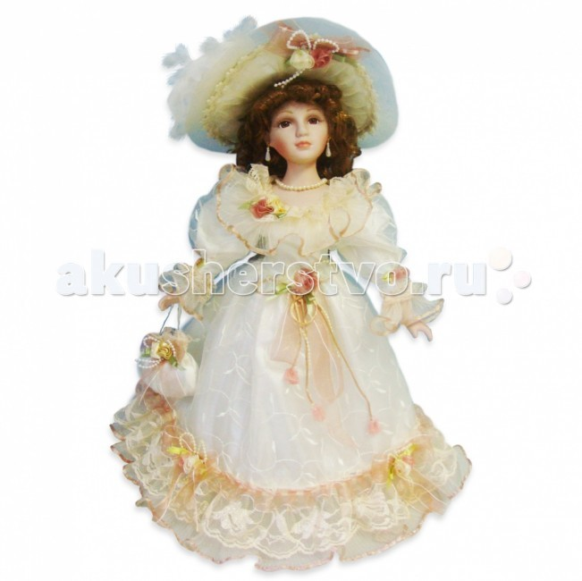 Lisa Jane Кукла фарфоровая Алина 18