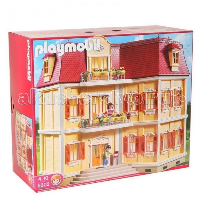 Кукольные домики Playmobil Особняк с двумя лестницами