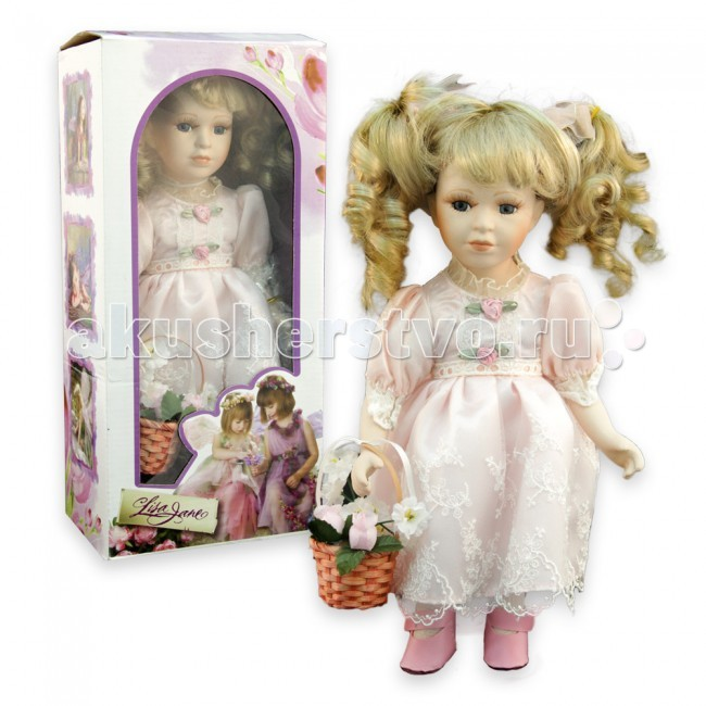 Lisa Jane Кукла фарфоровая Алла 12