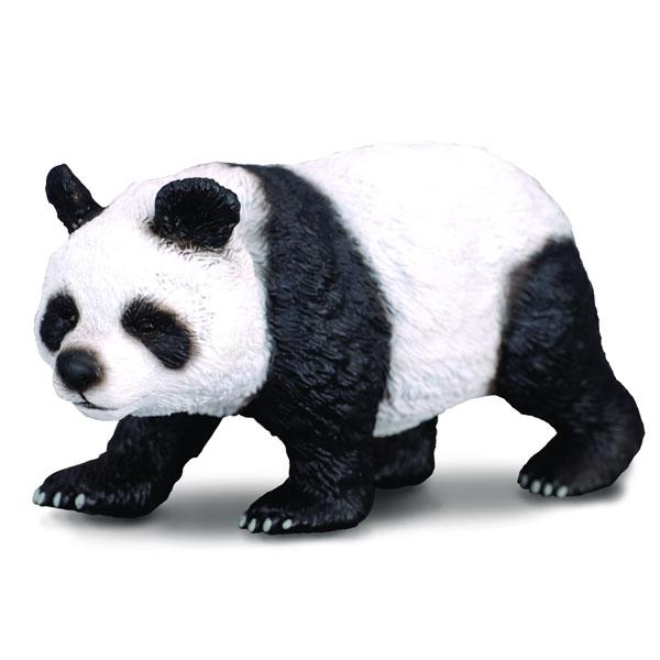 Gulliver Collecta Фигурка Большая панда 9.6 смCollecta Фигурка Большая панда 9.6 смGulliver Collecta Фигурка Большая панда является уменьшенной копией настоящей большой панды. Кажется, что игрушка вот- вот оживет.  Особенности: Большая панда представляет собой удивительное сочетание медведя с некоторыми признаками енота. Уменьшенная копия взрослой панды, как будто собирается на поиски сочных побегов бамбука. Все детали тела тщательно проработаны, что способствует развитию воображения и тактильных ощущений у ребёнка во время игры. Декоративная фигурка станет изысканным и уникальным сувениром, и понравится как детям, так и их родителям. Фигурка изготовлена из высококачественной пластмассы и раскрашены вручную.<br>