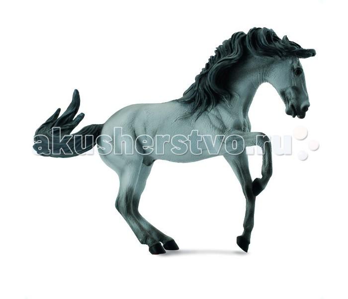 Gulliver Collecta Фигурка Лузитанский жеребецCollecta Фигурка Лузитанский жеребецGulliver Collecta Фигурка Лузитанский жеребец является уменьшенной копией настоящего жеребца. Кажется, что игрушка вот - вот оживет.  Особенности: Развивающиеся на ветру волосы хвоста и гривы, приподнятые передние ноги – все это понравится истинным любителям лошадей и детям. Все детали тела тщательно проработаны, что способствует развитию воображения и тактильных ощущений у ребёнка во время игры. Декоративная фигурка станет изысканным и уникальным сувениром, и понравится как детям, так и их родителям. Фигурка изготовлена из высококачественной пластмассы и раскрашены вручную.<br>