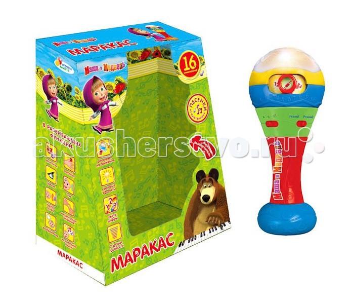 Музыкальная игрушка Умка Играем вместе Маракас Маша и Медведь