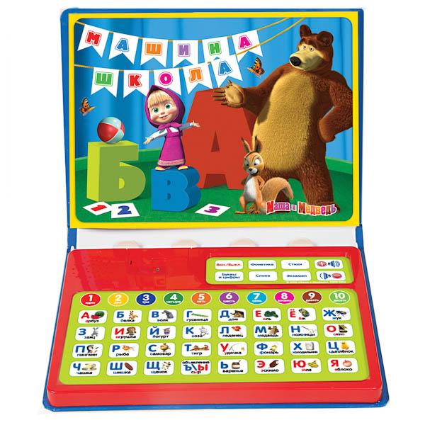 Развивающие книжки Умка Обучающая книга Маша и Медведь