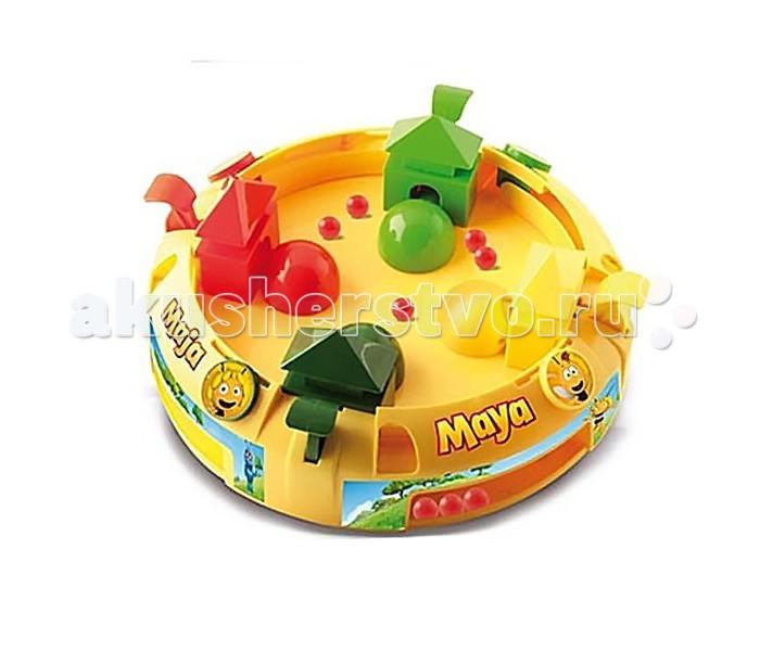 Развивающая игрушка IMC toys Maya Игра ЛовушкаMaya Игра ЛовушкаIMC toys Maya Игра Ловушка - позволит деткам в игровой форме развить ловкость и координацию движений.   На игровом поле размещены 4 улья, которые с помощью специальных педалек открывают ковшики и ловят цветные шарики.   Задача игроков - сделать так, чтобы его ковшик собрал больше шариков чем другие. В чьем улье будет больше всех шариков, тот Победитель!<br>
