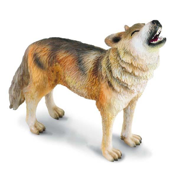 Gulliver Collecta Фигурка Волк воющий 8 см