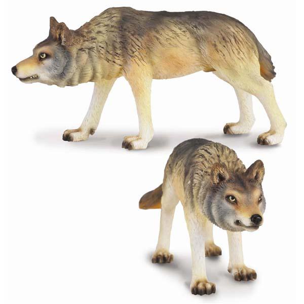Gulliver Collecta Фигурка Волк охотящийся 9 см