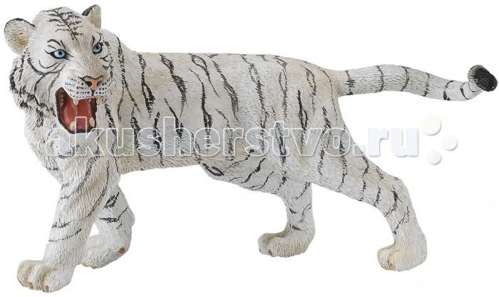 Gulliver Collecta Фигурка Белый Тигр 20 смCollecta Фигурка Белый Тигр 20 смGulliver Collecta Фигурка Белый Тигр является уменьшенной копией настоящего белого тигра. Кажется, что игрушка вот - вот оживет.  Особенности: Все детали тщательно проработаны, что способствует развитию воображения и тактильных ощущений у ребёнка во время игры. Декоративная фигурка станет изысканным и уникальным сувениром, и понравится как детям, так и их родителям. Фигурка изготовлена из высококачественной пластмассы и раскрашены вручную.<br>