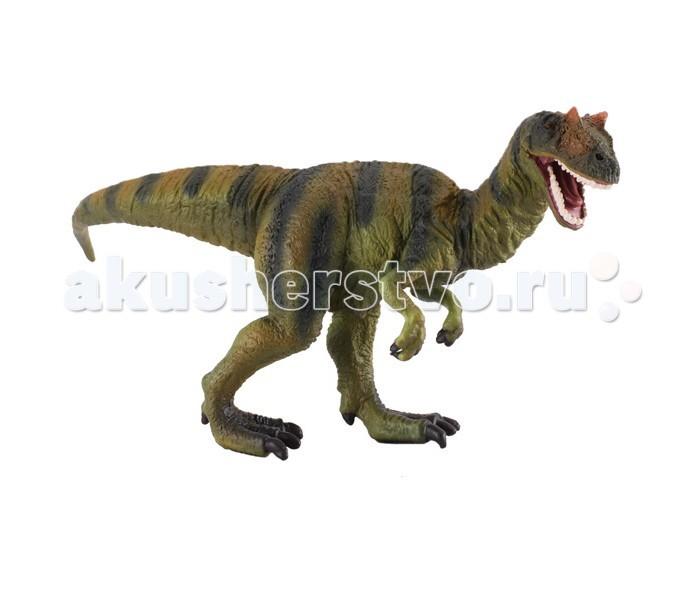 Gulliver Collecta Фигурка Аллозавр 15.5 смCollecta Фигурка Аллозавр 15.5 смGulliver Collecta Фигурка Аллозавр является уменьшенной копией настоящего аллозавра. Кажется, что игрушка вот - вот оживет.  Особенности:  Все детали тщательно проработаны, что способствует развитию воображения и тактильных ощущений у ребёнка во время игры. Декоративная фигурка станет изысканным и уникальным сувениром, и понравится как детям, так и их родителям. Фигурка изготовлена из высококачественной пластмассы и раскрашены вручную.<br>