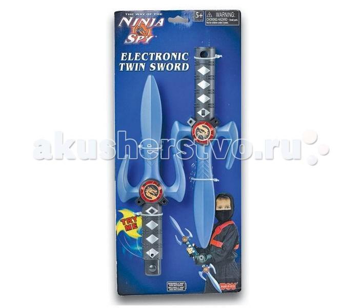 Игрушечное оружие Happy Kid Игровой набор Ниндзя Двойной меч 3915T