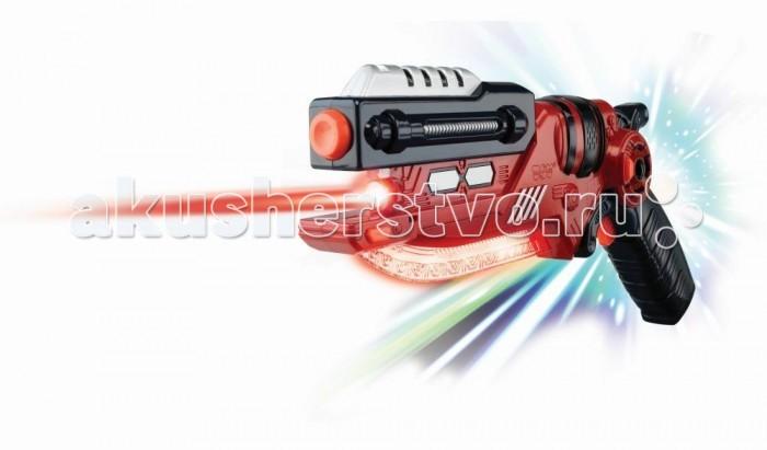 Hap-p-Kid Сабля-пистолет красныйСабля-пистолет красныйУникальное игровое приобретение в виде фантастической сабли с трансформацией в современную модель пистолета приведет в восторг Вашего мальчика.  Для зрелищного игрового представления игрушка-трансформер оснащена свето-звуковыми эффектами.   При нажатии на курок игрушки-сабли раздается реалистичный звук удара металла и загорается подсветка на нижнем лезвии.   При нажатии на курок игрушки-пистолета раздаются звуки стрельбы и загорается подсветка и лезвия, и лазерного прицела.   С таким функциональным игровым приобретением каждому мальчишке можно выстраивать различные захватывающие сюжеты и придумывать интересные ролевые игры.   В процессе новой увлекательной игры тренируется мелкая моторика и ловкость движений, зрительное и тактильное восприятие, проявляются фантазии и воображение.   Все составляющие игрушки выполнены из прочного и высококачественного материала, стойкого к изнашиванию и не содержащего в составе вредных красителей.  Работает от 3 батареек типа АА (в комплект входят демонстрационные). Размеры игрушки: 34 х 10 х 5 см.<br>