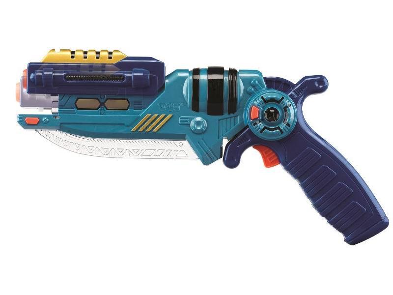 Игрушечное оружие Happy Kid Сабля-пистолет синий