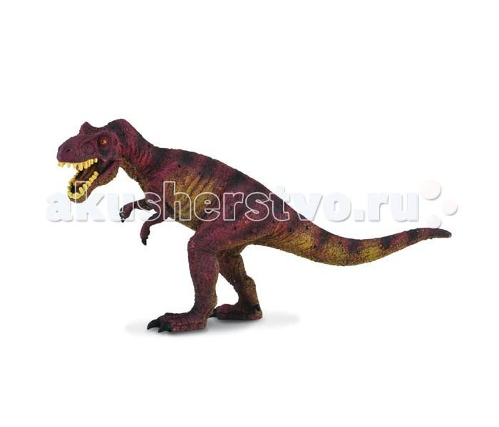Gulliver Collecta Фигурка Тираннозавр 19 смCollecta Фигурка Тираннозавр 19 смGulliver Collecta Фигурка Тираннозавр является уменьшенной копией настоящего тираннозавра. Кажется, что игрушка вот - вот оживет.  Особенности: Тираннозавр - это самый известный вымерший вид наземного животного и является самым крупным хищником конца мелового периода, который проходил на Североамериканском континенте. Все детали тщательно проработаны, что способствует развитию воображения и тактильных ощущений у ребёнка во время игры. Декоративная фигурка станет изысканным и уникальным сувениром, и понравится как детям, так и их родителям. Фигурка изготовлена из высококачественной пластмассы и раскрашены вручную.<br>
