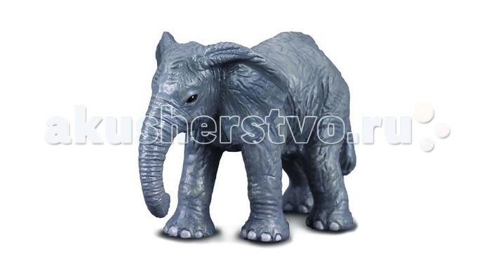Gulliver Collecta Фигурка Африканский слоненок 6 смCollecta Фигурка Африканский слоненок 6 смGulliver Collecta Фигурка Африканский слоненок является уменьшенной копией настоящего африканского слоненка. Кажется, что игрушка вот - вот оживет.  Особенности: Все детали тщательно проработаны, что способствует развитию воображения и тактильных ощущений у ребёнка во время игры. Декоративная фигурка станет изысканным и уникальным сувениром, и понравится как детям, так и их родителям. Фигурка изготовлена из высококачественной пластмассы и раскрашены вручную.<br>