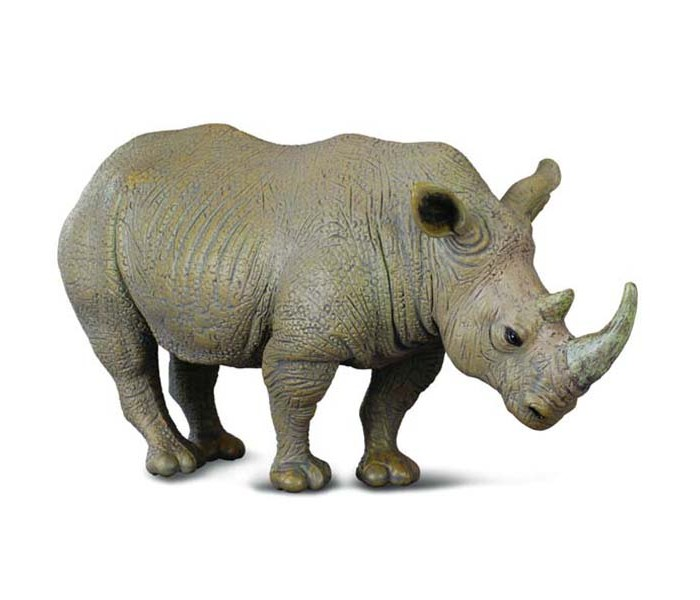 Gulliver Collecta Фигурка Белый носорог 13 см