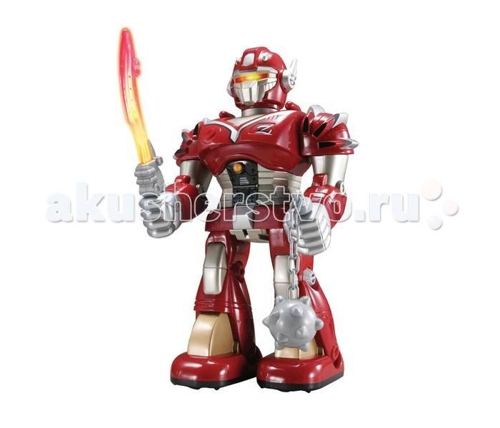 Интерактивная игрушка Hap-p-Kid Робот-воин (красный) 26 см