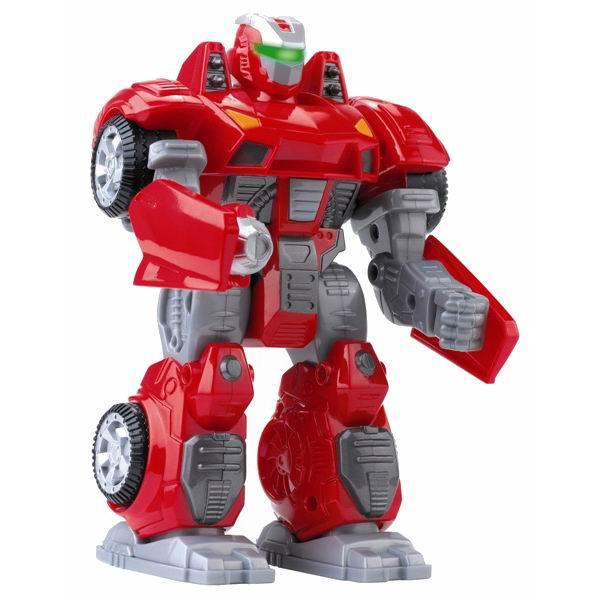 Hap-p-Kid Робот-трансформер красный 17.5 см
