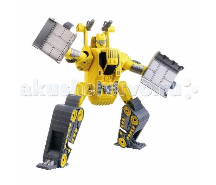 Hap-p-Kid Робот-трансформер Ретро желтыйРобот-трансформер Ретро желтыйУсовершенствованная модель робота с трансформацией в мощный экскаватор станет неотъемлемым атрибутом на игровой строительной площадки.  Подвижные части тела игрушки позволяют принимать роботу различные положения, а Вашему юному инженеру-конструктору обеспечивают новые идеи и варианты для сборки.   Благодаря шарнирным соединениям игрушечная фигурка имеет подвижные элементы, а детали игрушки легко разбираются и свободно вращаются на 360 градусов.   С таким функциональным игровым приобретением каждому маленькому фантазеру можно выстраивать различные захватывающие сюжеты и придумывать интересные ролевые игры.   В процессе новой увлекательной игры тренируется мелкая моторика и ловкость движений, зрительное и тактильное восприятие, проявляются фантазии и воображение.   Все составляющие игрушки выполнены из прочного и высококачественного материала, стойкого к изнашиванию и не содержащего в составе вредных красителей.  Высота фигурки: 17.5 см. В комплекте: робот-экскаватор.<br>