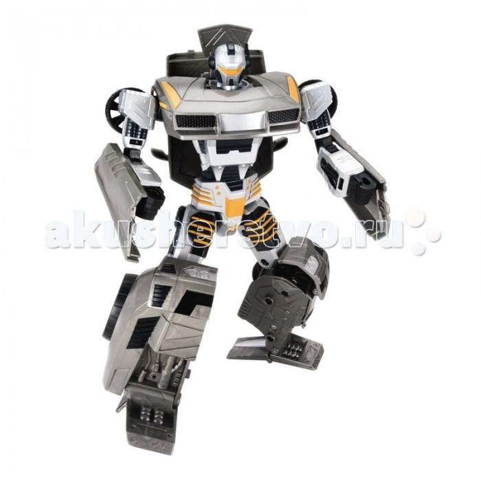 Hap-p-Kid Робот-трансформер Спорт 4112TРобот-трансформер Спорт 4112TПотрясающее воображение превращение-трансформация фигурки робота в ультра современную модель спорткара приведет в неописуемый восторг каждого обладателя такой игрушки.  Подвижные части тела игрушки позволяют принимать роботу различные положения, а Вашему юному инженеру-конструктору обеспечивают новые идеи и варианты для сборки.   Благодаря шарнирным соединениям игрушечная фигурка имеет подвижные элементы, а детали игрушки легко разбираются и свободно вращаются на 360 градусов.   С таким функциональным игровым приобретением каждому маленькому фантазеру можно выстраивать различные захватывающие сюжеты и придумывать интересные ролевые игры.   В процессе новой увлекательной игры тренируется мелкая моторика и ловкость движений, зрительное и тактильное восприятие, проявляются фантазии и воображение.   Все составляющие игрушки выполнены из прочного и высококачественного материала, стойкого к изнашиванию и не содержащего в составе вредных красителей.  Высота фигурки: 17.5 см. В комплекте: робот-автомобиль.<br>