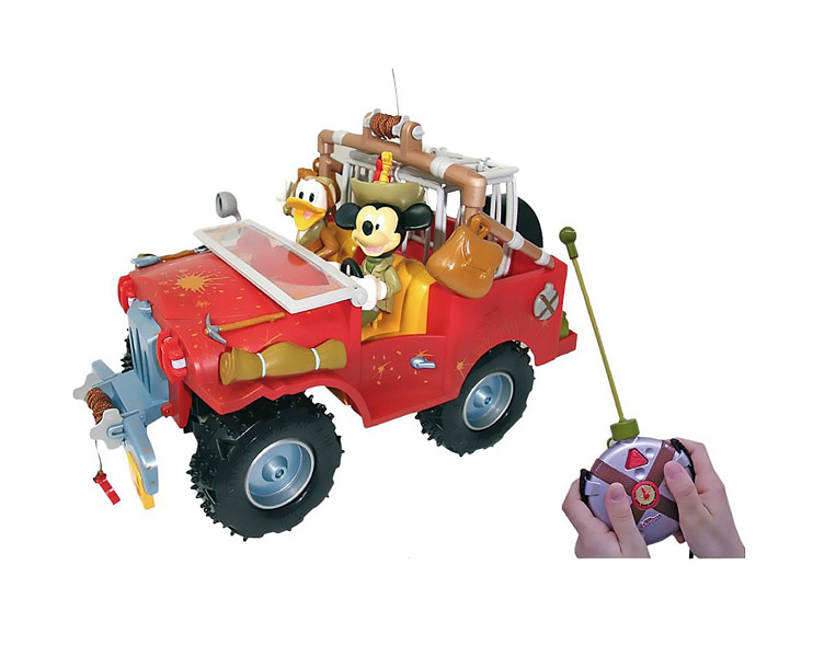 IMC toys Disney Машина+фигурки Приключения Mickey Mouse на радиоуправлении