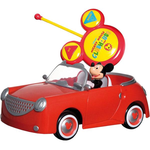 IMC toys Disney Машина+фигурки Mickey Mouse на радиоуправлении
