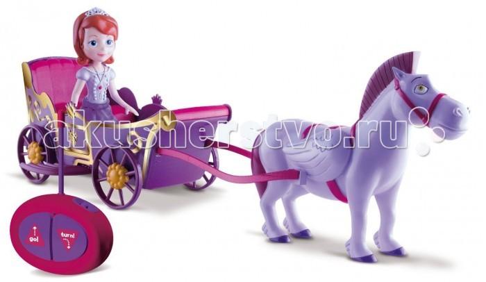 IMC toys Disney Карета Sofia на радиоуправленииDisney Карета Sofia на радиоуправленииIMC toys Disney Карета Sofia на радиоуправлении - игровой набор, который состоит из принцессы Софии на карете и ее коня. Игрушка обязательно понравится вашей принцессе, ведь она создана по мотивам мультфильма.   Карета двигается с помощью пульта радиоуправления.   Проведи весело время с Софией и её новой чудесной каретой, в которую запряжен ее крылатый конь Minimus.   Батареи в комплект не входят.  В комплекте:  кукла конь карета пульт.<br>