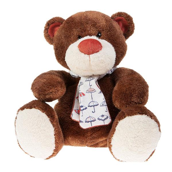 Мягкая игрушка Button Blue Медвежонок Тимоша коричневый 28 смМедвежонок Тимоша коричневый 28 смМягкая игрушка Button Blue Медвежонок Тимоша коричневый привлечет внимание любого малыша.  Забавная мягкая игрушка - прекрасный выбор к любому празднику!  Она изготовлена из высококачественного, безопасного для ребенка искусственного меха с пушистым ворсом, который словно специально создан для самых нежных и приятных касаний! Плюшевый зверек украсит детскую комнату и станет радовать ребенка каждый день.  Мягкая игрушка наполнит мир вашего малыша приятными ощущениями и положительными эмоциями. Способствует развитию воображения и тактильной чувствительности у детей.  Размер игрушки 28 см<br>