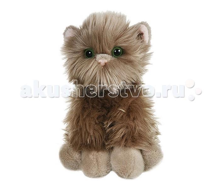 Мягкая игрушка Gulliver Серый котик пушистик 23 см