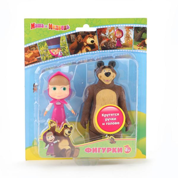 Играем вместе Набор из 2-х фигурок: медведь и МашаНабор из 2-х фигурок: медведь и МашаНабор фигурок Играем Вместе Медведь и Маша напоминает о всеми любимом персонаже из мультфильма.   Игрушка красиво раскрашена и имеет округлую форму. Фигурка изготовлена из безопасного и высококачественного материала, так, что с ней могут играть даже самые маленькие ребята.<br>