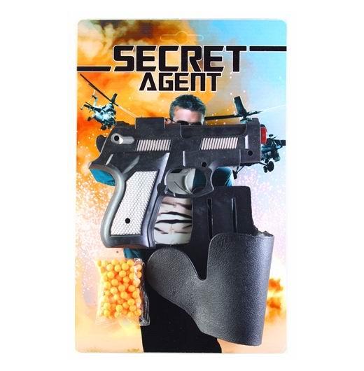 Игрушечное оружие Pullman Secret agent Набор пистолет с пульками