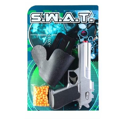 Игрушечное оружие Pullman S.W.A.T. Игровой набор пистолет, кобура и пульки