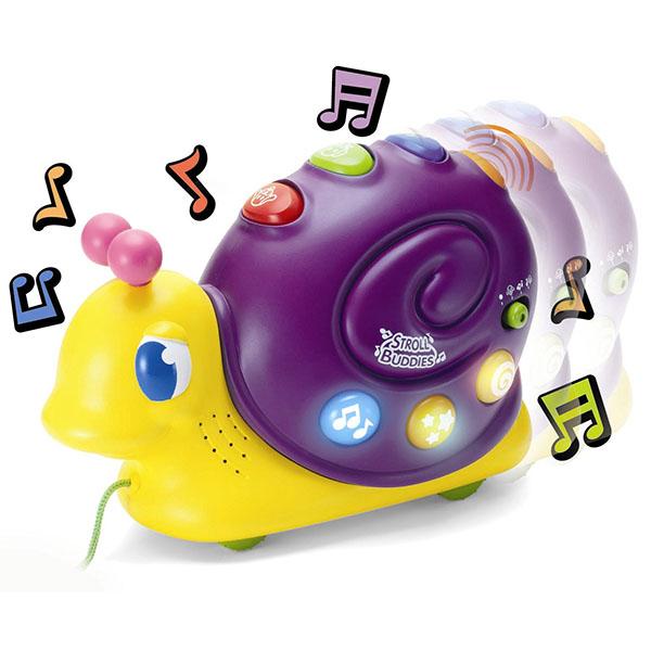 Каталка-игрушка Keenway Улитка (звук, свет)