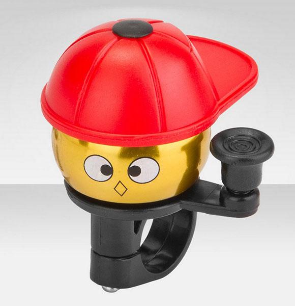 Аксессуары для велосипедов R-Toys Звонок Красная кепка