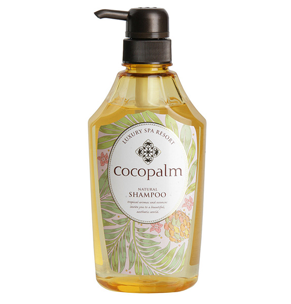 Saraya Cocopalm Шампунь для волос Luxury SPA Resort 600 мл