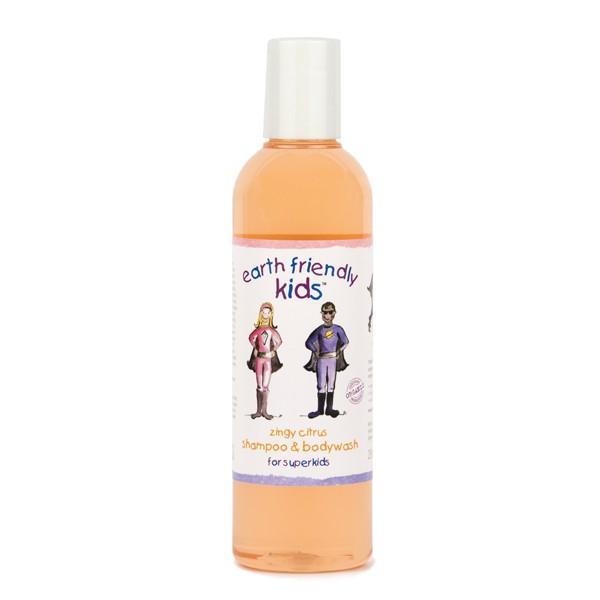 Купить Косметика для малыша Kids Шампунь-гель для душа с цитрусом 250 мл  Косметика для малыша Earth Friendly