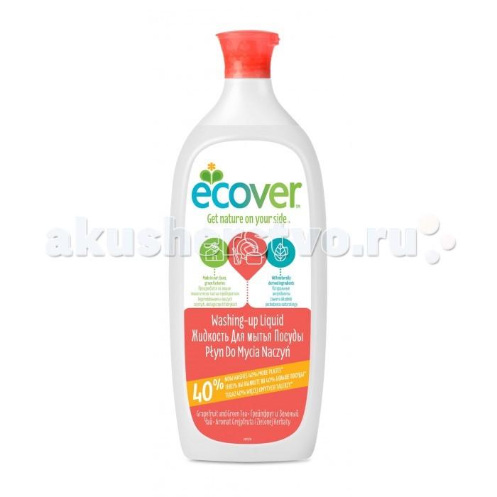 Ecover Экологическая жидкость для мытья посуды с грейпфрутом и зеленым чаем 1 лЭкологическая жидкость для мытья посуды с грейпфрутом и зеленым чаем 1 лЭкологическая жидкость для мытья посуды с грейпфрутом и зеленым чаем эффективно растворяет жир. Создано только на растительно-минеральной основе. Не содержит нефтепродуктов. Отлично смывается водой, не оставляя частиц средства на посуде! Безопасно для окружающей среды и источников вод. Экономично в использовании. Полностью биоразлагается. Не наносит ущерб Вашим рукам. Обладает приятным ароматом грейпфрута.  Состав: >30%: вода; 5-15%: анеонные и неионные экосурфактанты (био-ПАВ на растительной основе); >5%: экстракт зеленого чая, лимонная кислота, соль, натуральный ароматизатор (тип: грейпфрут; содержит лимонен); 0,02% 2-бром-2-нитропропан-1,3-диол.  Способ применения: Небольшое количество нанести на влажную губку, затем нанести на посуду и смыть. Продукт эффективен без большого количества пены.  Упаковка: 1000 мл.<br>